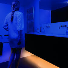 bed light discreet motion activated under the bed lighting the