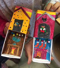 holiday matchbox art art projects for kids