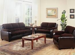couch and loveseat set dark brown microfiber sofa bed wooden