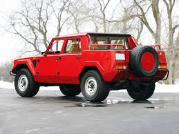 matchbox lamborghini lm002 the fastest accelerating 0 100kmph pickup trucks u2013 old concept cars