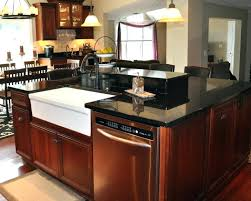 Kitchen Islands With Sink And Seating Kitchen Island With Cooktop And Sink Altmine Co