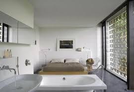 bedroom and bathroom ideas open bedroom bathroom design with exemplary open plan bedroom