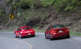 porsche 911 2015 2015 bmw m4 vs 2014 porsche 911 carrera test drive
