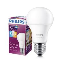 philips sceneswitch led bulb 9 5 60w e27 3000 6500k mulamu