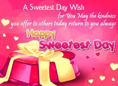 Sweetest Day Meme - colorful sweetest day lettering life inspiration quote pictures