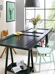 Office Dining Furniture 3 cheap diy ideas to reuse and recycle old wood doors for modern