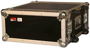 Audio Rack Case Gator G Tour 4uw 4u Standard Audio Road Rack Case W Wheels