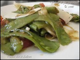 cuisiner des pois gourmands recette de salade de pois gourmands au comté