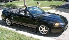 01 mustang convertible top black 2001 ford mustang svt cobra convertible mustangattitude