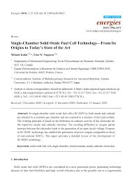 bureau de m hode single chamber solid oxide fuel cell pdf available