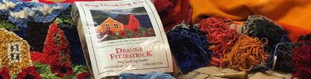 Wool Hook Rug Kits Kits U2013 Deanne Fitzpatrick Rug Hooking Studio