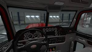 peterbilt 389 interior lights peterbilt 389 interior exterior rework v 1 0 ats mods american