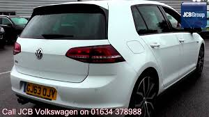 volkswagen models 2013 2013 volkswagen golf gtd 2l pure white gj63ojy for sale at jcb vw