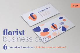 business card template with monstera business card templates