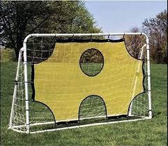 soccer goals for backyard gardening design