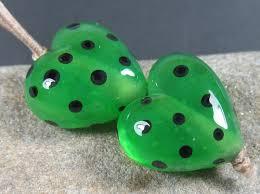 The Inchworm Kitzbitz Art Glass Messy Testing Inchworm And Chartreuse Ltd Run