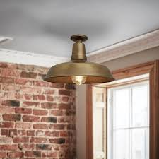 farmhouse semi flush light industville farmhouse vintage semi flush ceiling light antique