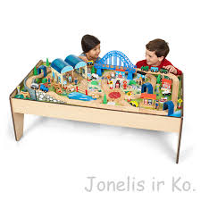 imaginarium train table 100 pieces traukinių stalas universe of imagination all in one train table