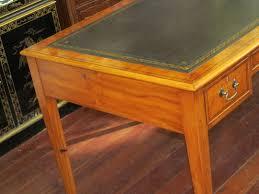 Antique Style Writing Desk English Bench Made Hepplewhite Style Writing Desk