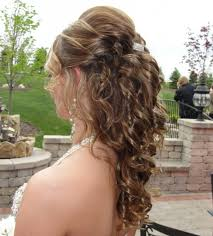 prom hair down curly popular long hairstyle idea