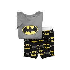 boy pajama set baby superman pajamas batman