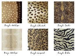 Antelope Runner Rug Antelope Print Carpet Patterned Carpet