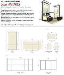 trade show floor plan solar antares modular stock laminate exhibits trade show