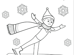 printable elf girl elves coloring pages girl elf coloring pages elf pictures to color