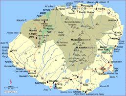 Kauai Cottages On The Beach by Best 20 Map Of Kauai Ideas On Pinterest Kauai Map Kauai Island