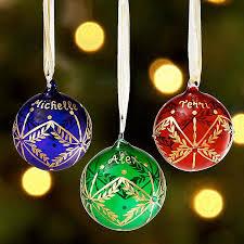 birthstone ornaments glass birthstone ornament