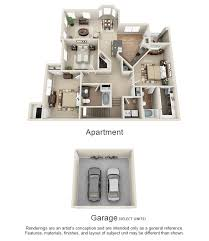 Floor Plans For Real Estate One Two And Three Bedroom Apartments In Terre Haute In