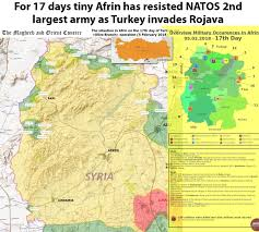 Turkey Mountain Map Turkey Invades Afrin In Another Attempt To Snuff Out Riojava