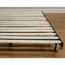 handy living wood slat bed frame