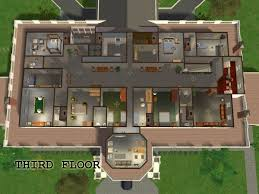 floor plan white house mod the sims the white house fully furnished with maxis content
