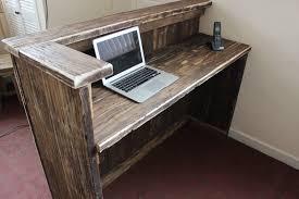 Reception Desk Ebay Hairdresser Salon Spa Barber Hotel Rustic Solid Driftwood Wood
