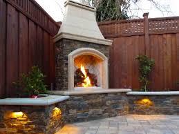 masonry outdoor fireplace ideas designs ideas and decor