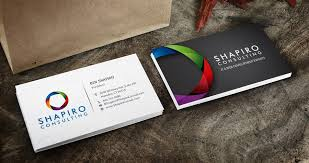 New Business Cards Designs Freelance New Business Card Design For Technology Consulting