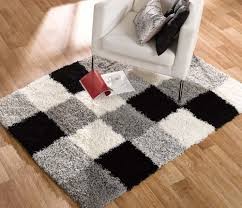 Shaggy Grey Rug Grey And Red Rug Uk Creative Rugs Decoration