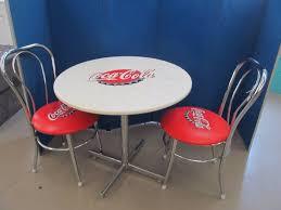 coca cola table and chairs jax of benson sale 439 in hancock minnesota by jax of benson
