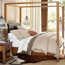 Wood Canopy Bed Frame Queen by Rustic Wood Canopy Bed Frame Products Bookmarks Design