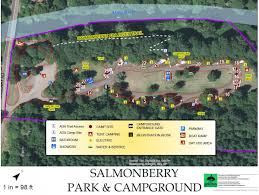 Map Of Oregon State Parks by Salmonberry Campground Benton County Oregon