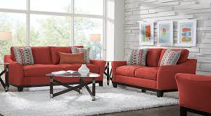 Orange Living Room Set Living Room Sets Living Room Suites Furniture Collections