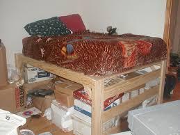 Building A Loft Bed Frame The Best Size Loft Bed Frame Room Cheap Diy For Building A