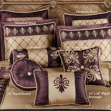 Gold Bed Cushions Royal Empire Comforter Bedding