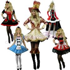 yummy bee fancy dress costume alice wonderland womens queen mad