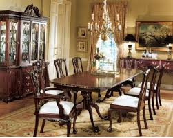 mahogany dining room set mahogany dining room sets set of six period solid chippendale