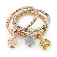 fashion jewelry charm bracelet images Longway 2017 new fashion bracelets bangles jewelry gold color jpg