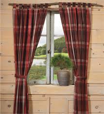 Curtains For A Cabin Rustic Curtains Cabin Window Treatments Lodge Valances Rustic