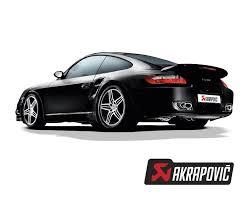 porsche turbo poster exhaust systems akrapovic porsche 911 997 turbo slip on line