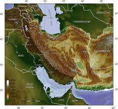 Physical Map Of The Middle East by Trip To The Geographic Features Of The Middle East